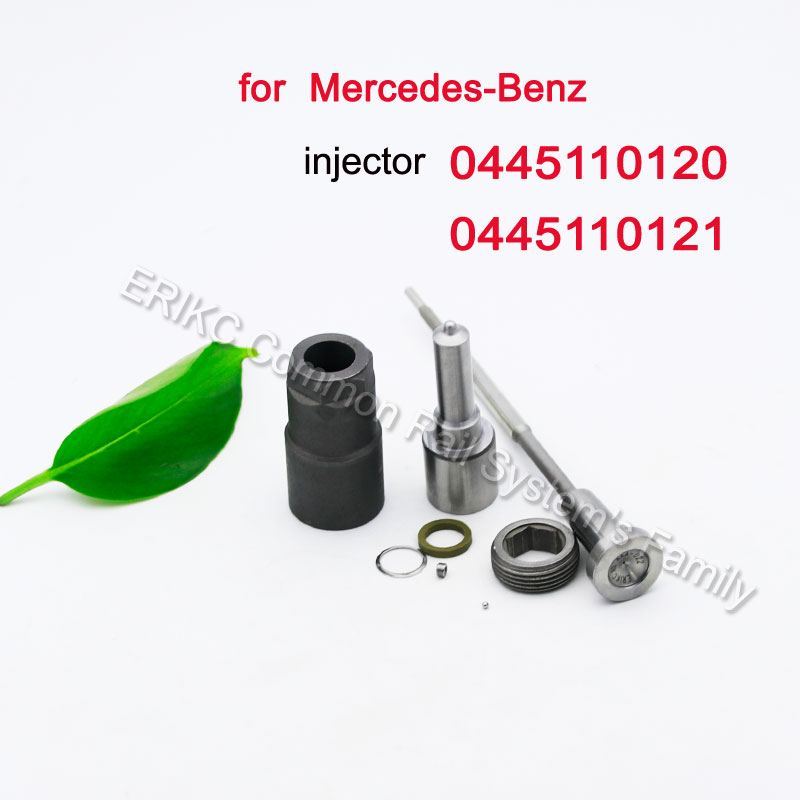 0445110121 Auto Diesel Fuel Injector Nozzle DLLA156P1107 (<font><b>0433171712</b></font>) Valve F 00V C01 045 for Engine Mercedes-Benz 0445110120 image