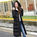 Winter Cotton Padded Jacket Women Slim Thick Stars Print Female Coat women winter Parkas Warm Winter Long Jackets LadY Overcoat