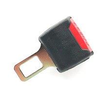 2 цвета 1 шт. автомобильный Зажим для ремня безопасности расширитель ремня безопасности замок Пряжка вилка Толстая вставка гнездо черный/серый