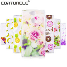 COATUNCLE Transparent Phone Case For Sony Xperia XA2 Case Lovely Animal Silicon Soft TPU Back Cover For Sony XA2 Ultra Case