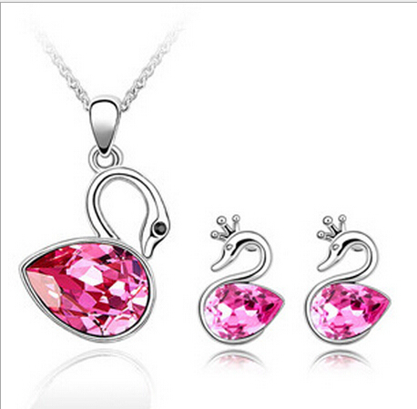 S057 Crystal Jewely Sets...