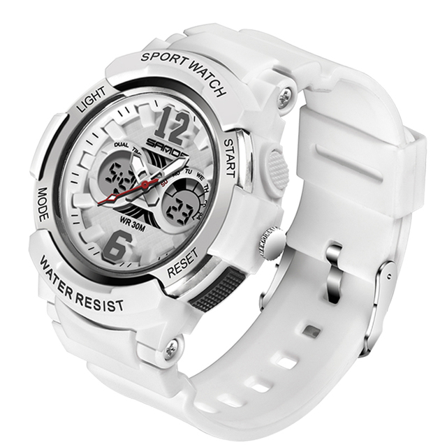 SANDA Kids Sport Watches LED Digital Children Watch Kids Watch Waterproof relogio masculino Boys Girls Alarm reloj hombre 5