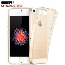 Чехол для iphone 5S SE, СОЭ Crystal Clear Ультра Тонкий 0.8 мм Силиконовый Гель Легкий Вес Защитный Чехол для iphone 5 SE 5S 5se