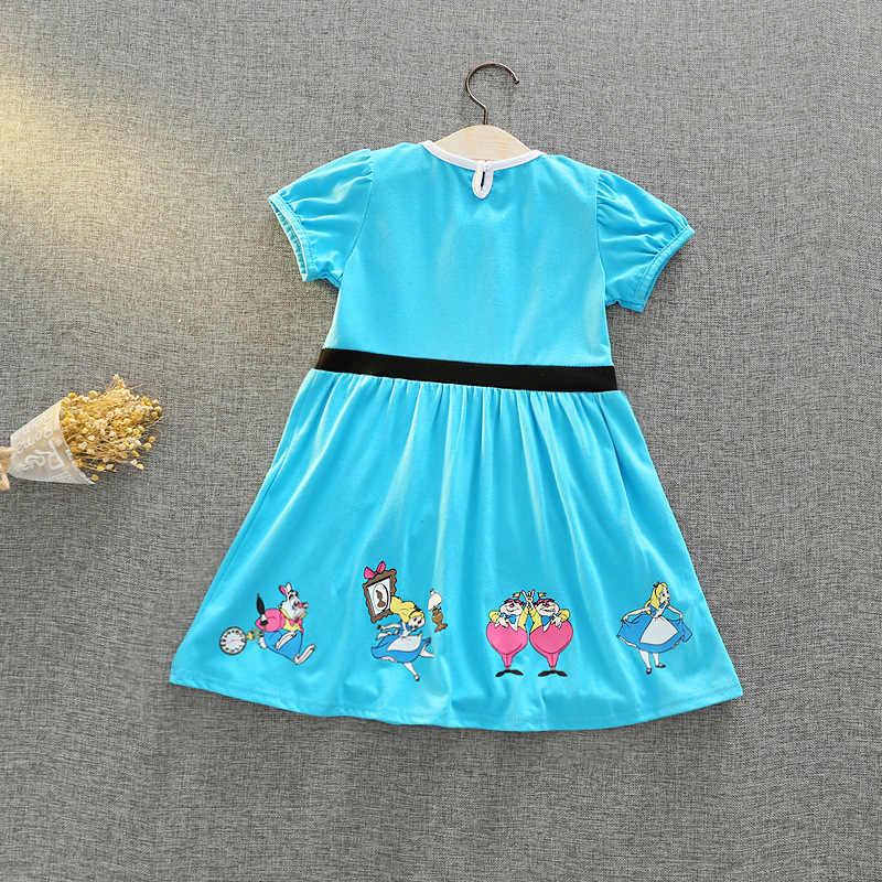 Нарядное платье принцессы для маленьких девочек Карнавальный костюм принцессы Софии Алисы с изображением Минни Белоснежки нарядное платье-пачка для девочек