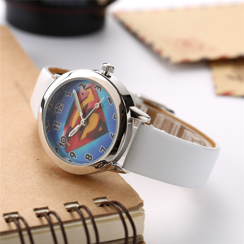 Children's Watch Cute Cartoon Student Boy's Girl's Quartz Clock Holiday Gift Waterproof Watches Timer Reloj Montre Enfant