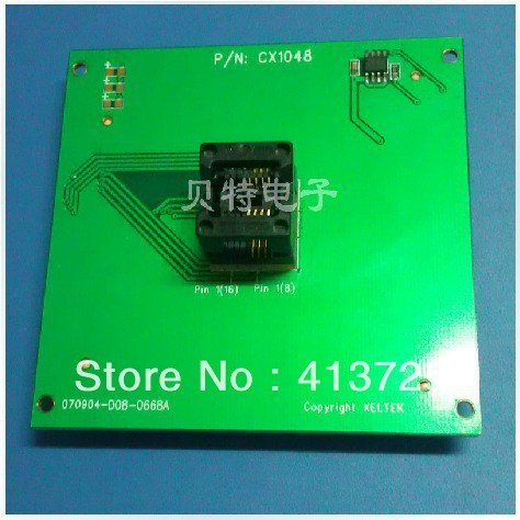 Xeltek dedicated IC SOP8/CX1048 test socket programming adapters 100pcs irf7416 sop8