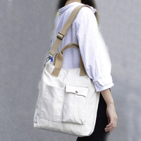 Canvas Tote Bags for Women Casual Handbags Shoulder Bag Environment friendly Cotton Shopping Bag Durable Thick Cloth Bookbag