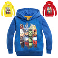 New Big Children's sweater Boys The Avengers Hoodies Sweatshirts kids Iron Man Terry Cotton Topwear Kids Hulk Outerwear -1622