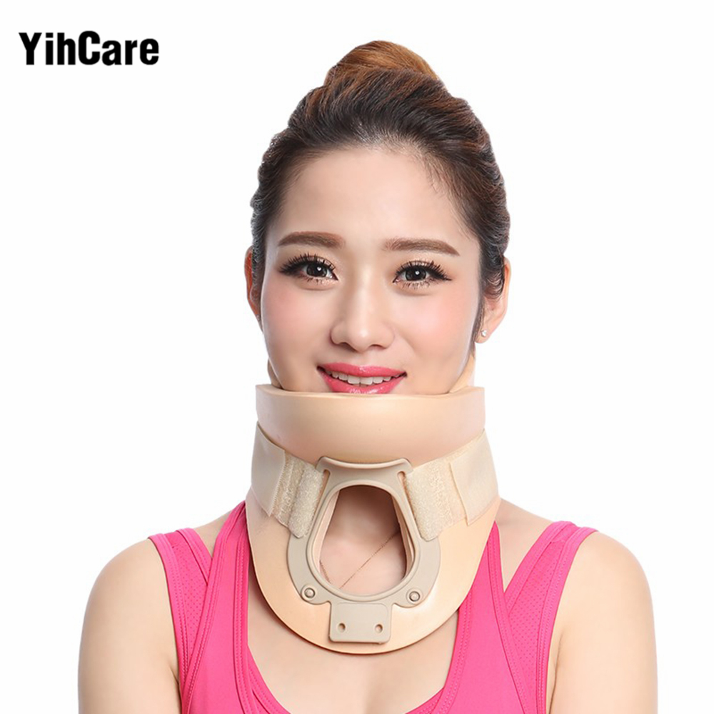 YihCare Cervical Collar Neck Brace Therapy Neck Massager Posture Brace Correct Neck Torticollis Corrector Device Pain Relief new design product good neck hammock for neck pain relief neck relief fatigue door handle hanging head neck hammock