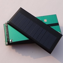 Top Sale 300PCS/Lot 5.5V 0.3W Solar Cell Polycrystalline Solar Panel Soar Module DIY Solar Charger Education Kits 86*38*3MM
