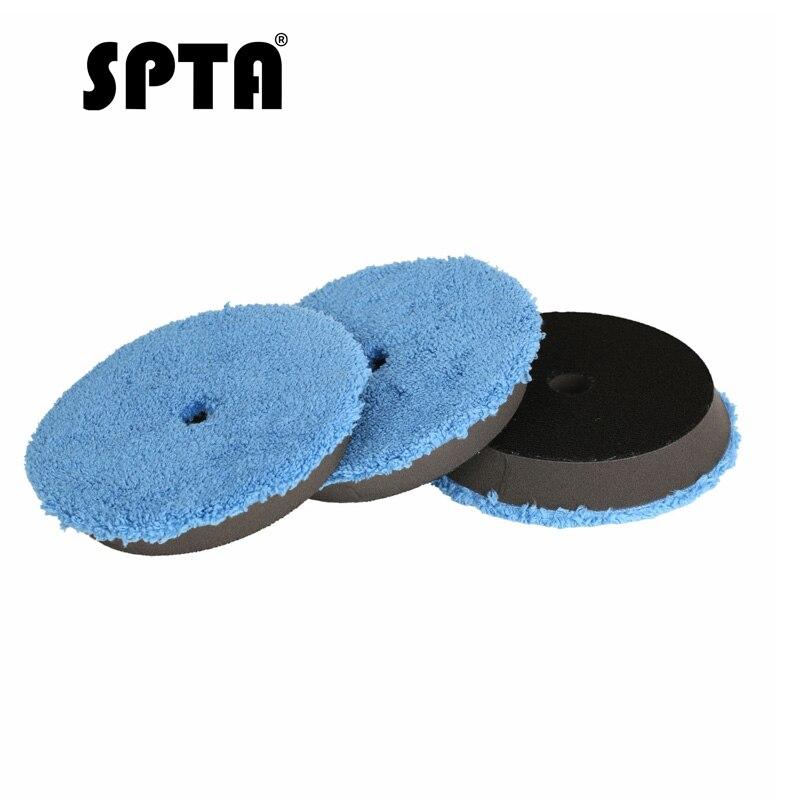 SPTA 3 adet hızlı parlatma pedi 6
