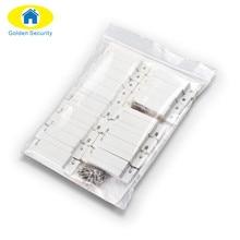 Golden Security 10 pair/lots Wired Door Window Sensor Magnetic Switch Home Alarm System Detector door open remider