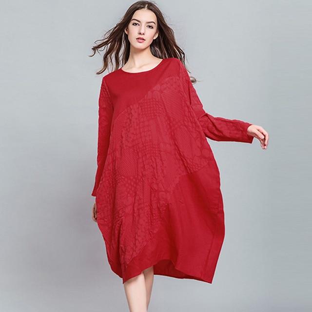 long sleeve dresses designer plus size sweater runway 2017 women