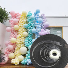 5/10/15 Meter Balon Model Alat Balon LaTeX Rantai DIY Balon Arch Garland Kit Pernikahan Ulang Tahun Baby shower Pesta Dekorasi(China)