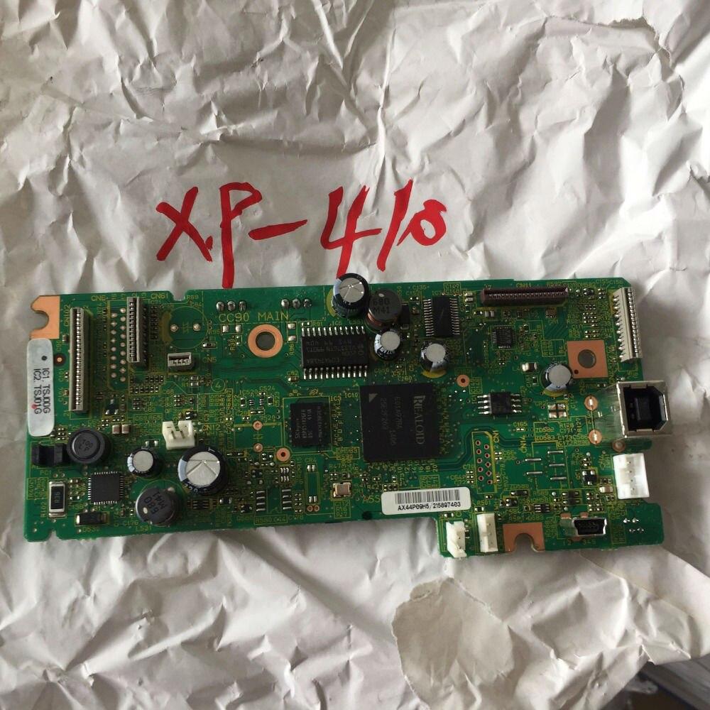 האם מעצב לוח ראשי לוח CC90 עיקרי עבור Epson XP 410 XP410 XP-410 מדפסת