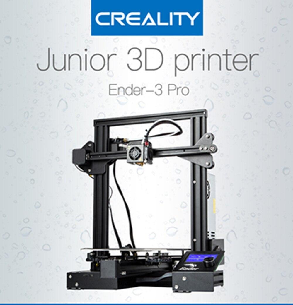 Новые Ender 3 Pro Creality 3D принтеры с открытым исходным кодом MeanWell Питание металлический 3D принтеры с Cmagnet построить поверхность