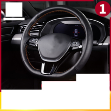 lsrtw2017 cowl leather car steering wheel cover for volkswagen arteon 2018 2019 2020