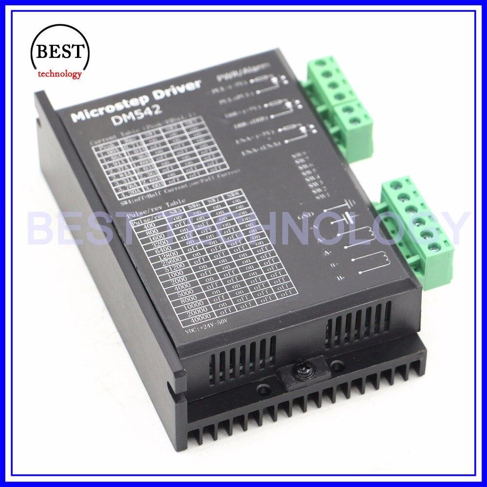CNC 2M542 Stepper Motor Driver Controller 4.2A Support Nema17//23//34