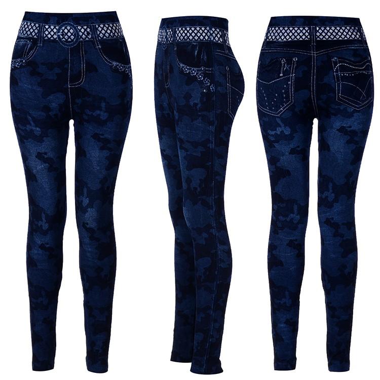 f7d29fa382b625 2016 sassy assy faux denim leggings genuine blue fade denim leggings ...