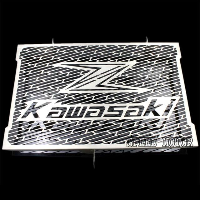 2016 nueva llegada del acero inoxidable de la motocicleta protector de radiador para kawasaki z800 zr800 envío gratis