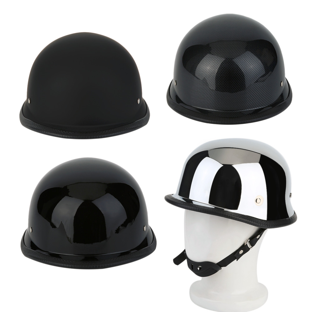 Fashionable Helmet Motorcycle Helmets Half German Style Vintage Motorcycle Helmet Durable Half Face Dot German Helmet