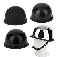 Thời trang Motorcycycle Mũ Bảo Hiểm Nửa Đức Phong Cách Cổ Điển Xe Máy Mũ Bảo Hiểm Bền Nửa Khuôn Mặt Đức Helmet M/L/XL