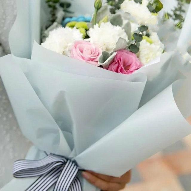 Online Shop Korean Flower Waterproof Wrapping Paper Packaging Gift ...