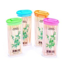 Disposable bulk toothpicks cigarette lighter shape bamboo wooden tooth picks 4 boxes toothpicks(China)