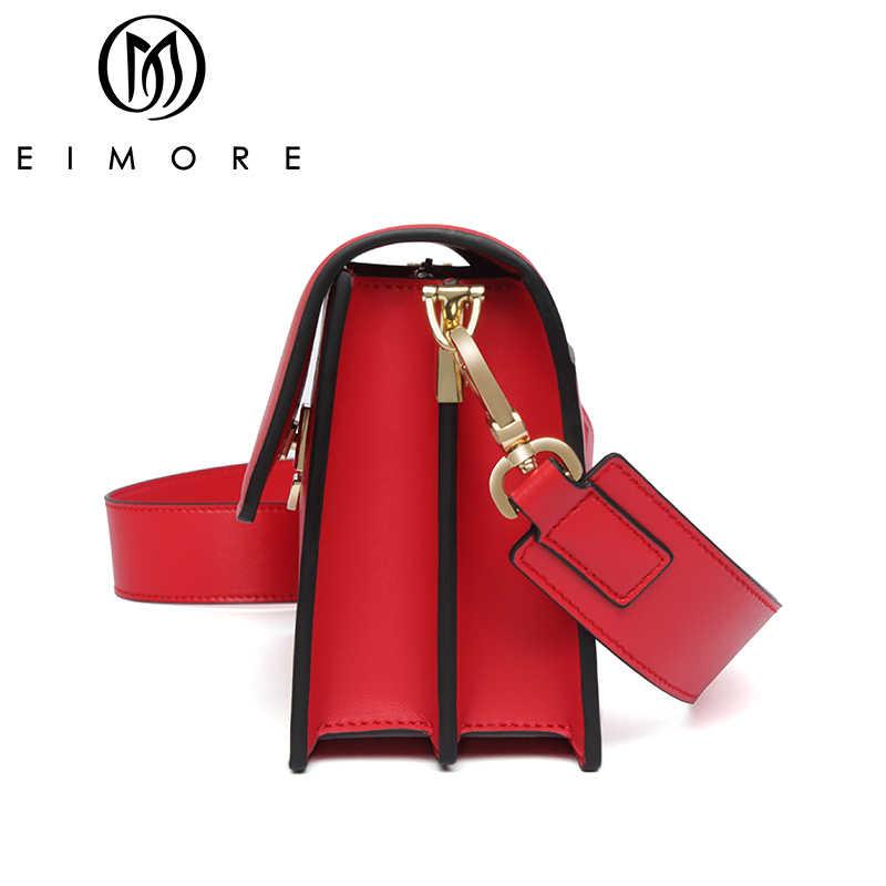 EIMORE Bolsas do Saco Das Mulheres 2019 Saco Crossbody para as mulheres de Luxo de Couro Designer de Senhoras Ombro Saco Saco Do Mensageiro Das Mulheres