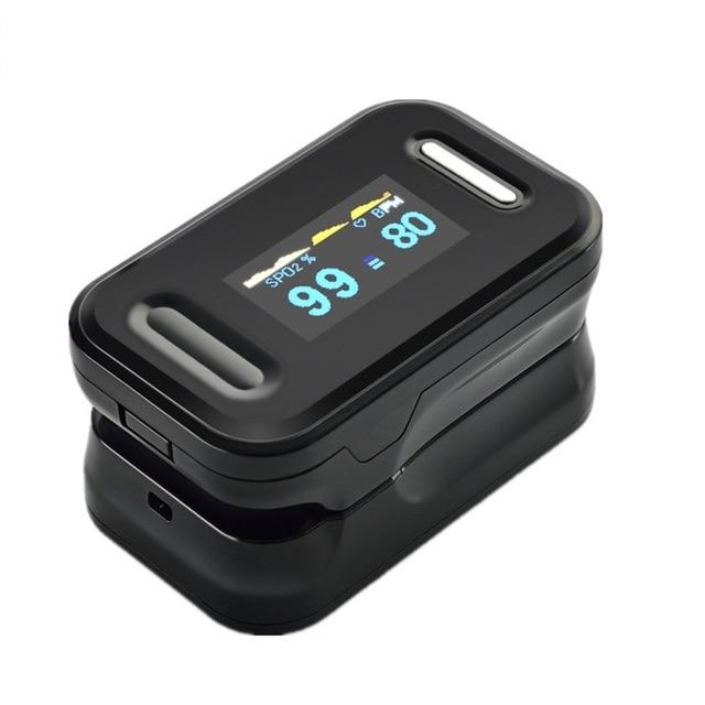 Oximetro Pulse Oximeter De Pulso De Dedo Fingertip Pulse Oximeter  Pulsioximetro Oled Heart Rate Monitor Free Shipping CE mini