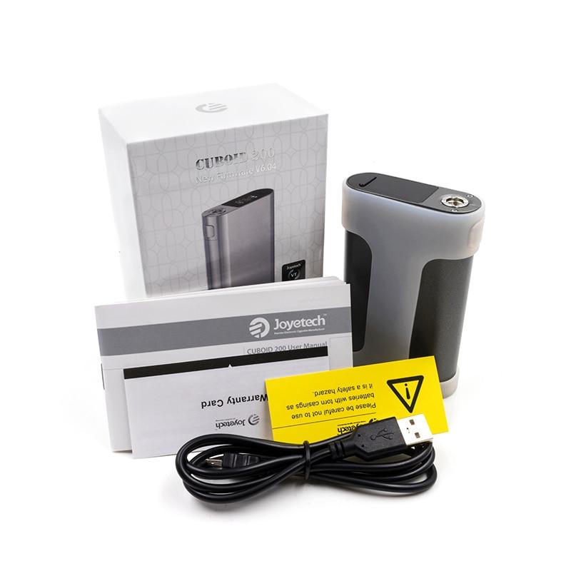 Original Joyetech Quader 200 watt box mod vape elektronische Zigarette Dampf vs Wismex RX2/3 mechanische mod DRAG MOD