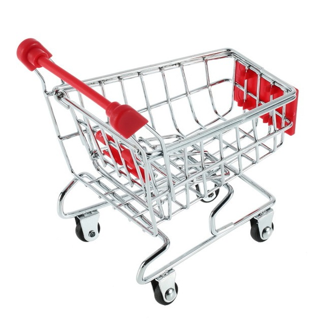 ענק SA Hot Sale Mini Small Shopping Cart Super Market Trolley ב-SA Hot LA-24
