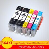 XiangYu 364 XL Kompatible Patrone ersetzen für HP 364 für HP364 Tinte Patrone Deskjet 3070A 5510 6510 B209a C510a C309a drucker