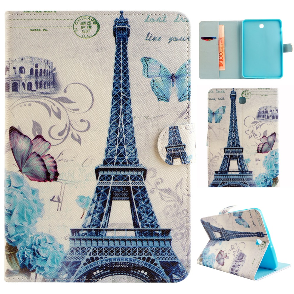 For Samsung Galaxy Tab S2 8.0 Case Cover Newest PU Leather Wallet Stand Cover Cases for Samsung Tab S2 8.0 T710 T715 Coque 3 in 1 high quality business smart pu leather book cover case for samsung galaxy tab s2 t710 t715 8 0 stylus screen film