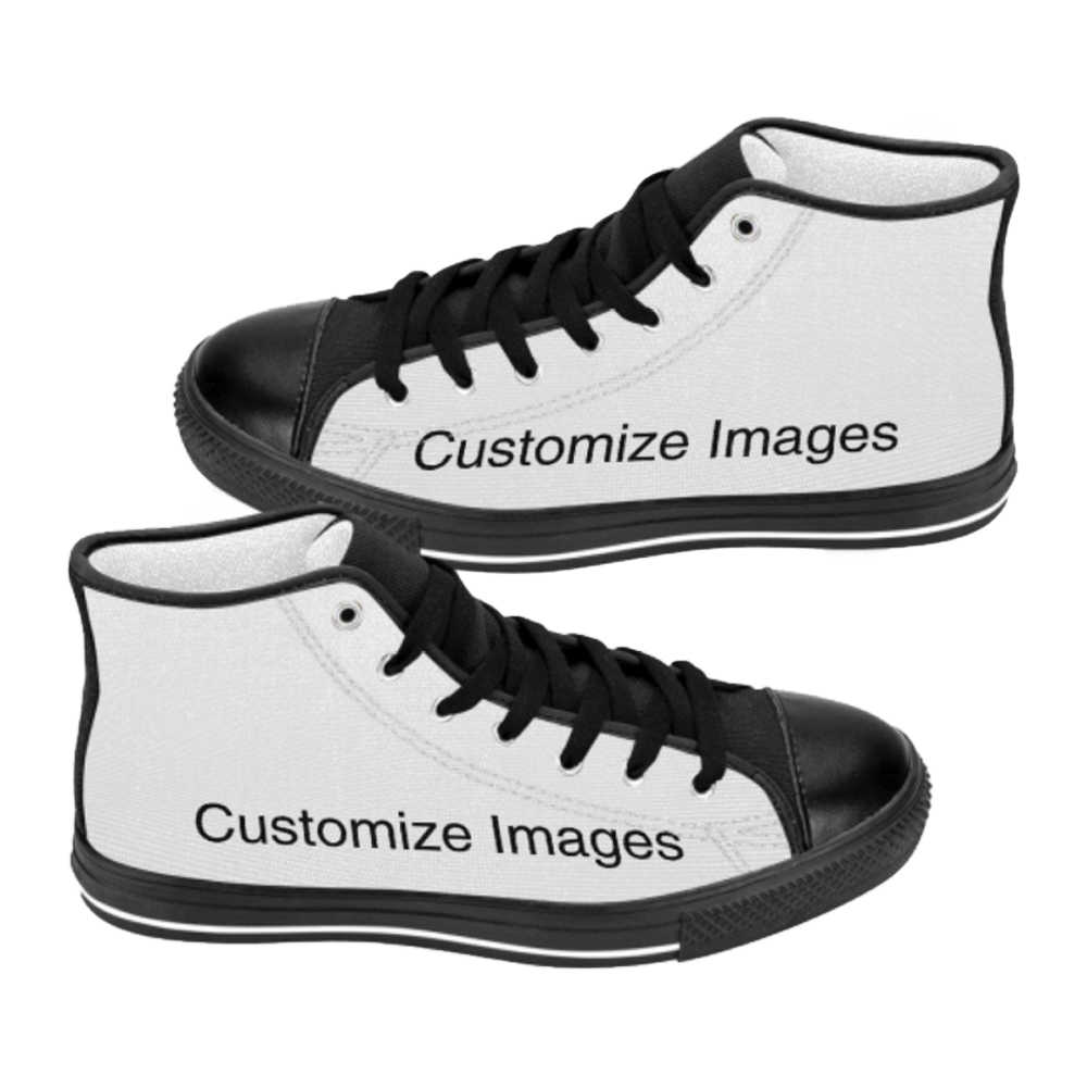 ad3b5d5d3bcb Custom Shoes for Unisex High Top Canvas Shoes Casual Custom Printed Shoes  Dropshipping Shoes