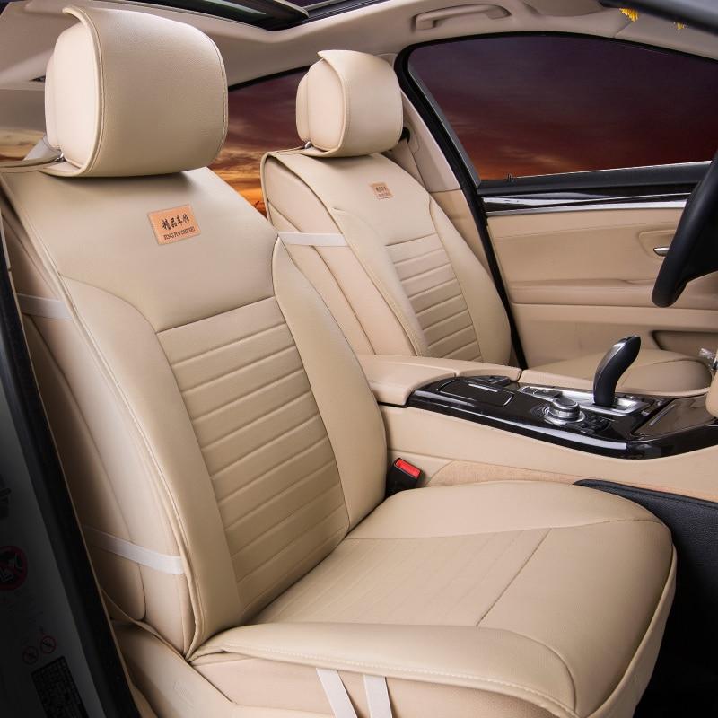 High quality Pu leather Universal Car Seat covers 5 seats cushion for Mitsubishi asx colt evolution galant grandis l200 lancer