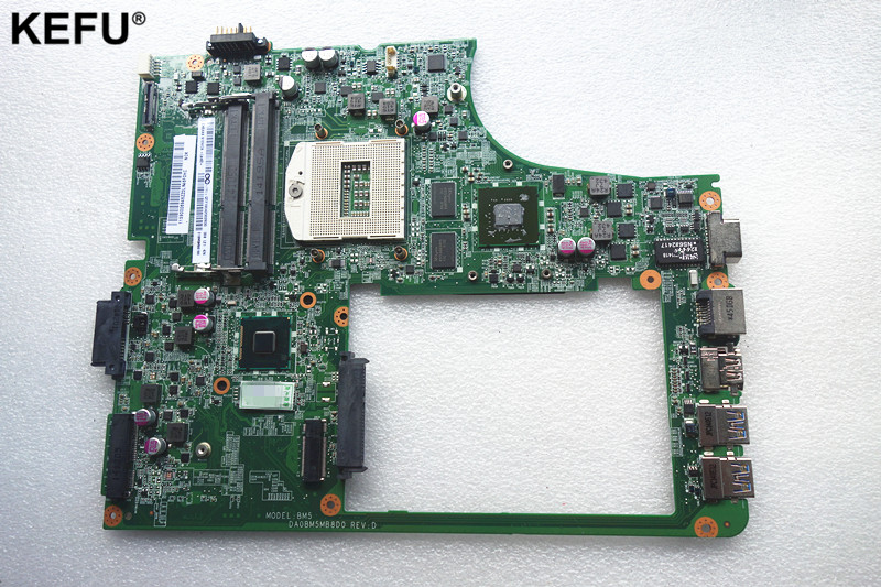 Suitable For Lenovo B5400 Laptop motherboard DA0BM5MB8D0 main board PGA 947 with Video card 100% tested