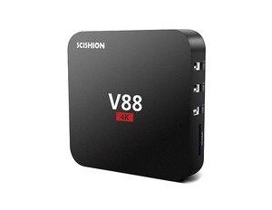 Image 1 - אנדרואיד טלוויזיה תיבת V88 1GB RAM 8GB ROM RK3229 Quad Core 1080P HD WiFi החכם הטלוויזיה תיבה מדיה נגן ממיר