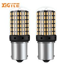 2 шт. 1156 BA15S P21W 7506 2000Lm супер яркий светодиодный Canbus без ошибок автомобильные лампы стоп сигнала Авто резервный обратный светильник дневной ходовой светильник