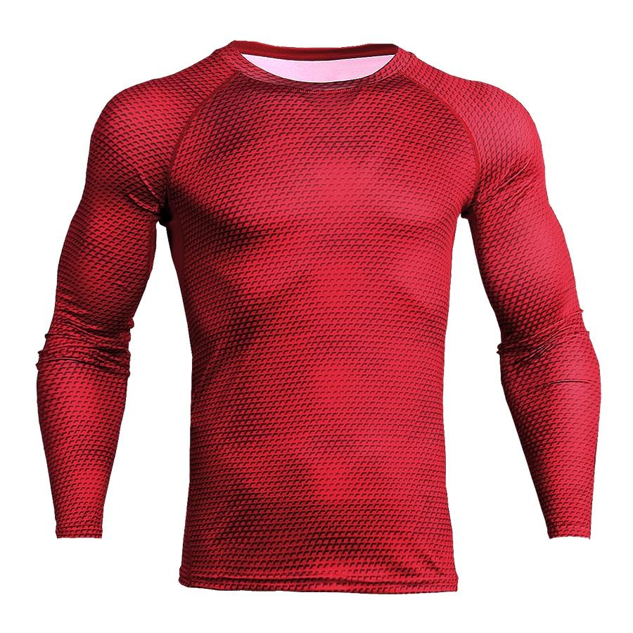 Men Printed Slimming Workout Tight Vest
