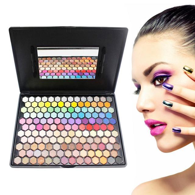 Fashion 149 Colors Eye Makeup Set Neutral Shimmer Matte Cosmetic Eye shadow Glitter Palette Y2