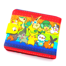Pokemon Funny Colorful Leather Wallet