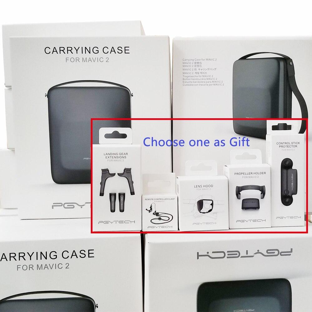 PGYTECH DJI Mavic 2 Bag Case With Strap For DJI Mavic 2 Pro Mavic 2 Zoom Drone PU EVA Shoulder Bag Carry Case Box Accessories