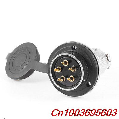 GX30-5 30mm Dia 5Pin Male Eletrical Deck Cable Connector Aviation Plug 8p 8 pin electrical deck aviation cable connector plug 10a