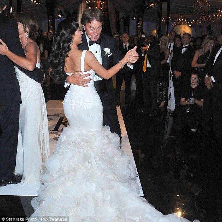 Y Ed Wedding Dress Mermaid Bridal Spaghetti Straps Celebrity Kim Kardashian Gown Custom Vestido Royal Train In Dresses From Weddings