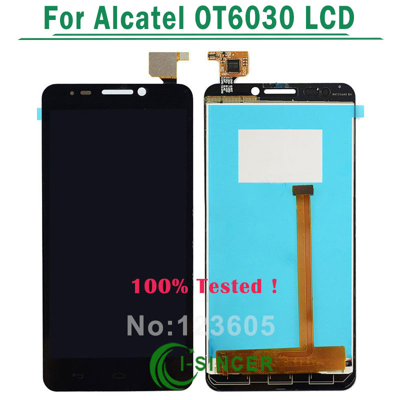 OT6030 LCD For Alcatel One Touch Idol Dual OT6030 6030A 6030d 6030x LCD Display Touch Screen Digitizer Assembly