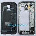 5 ШТ. Золото/Черный/Серебристый Для Samsung G903 Galaxy S5 Neo G903F Новый Ближний Рама Корпуса Рамка + Батареи Back Door Задние крышка
