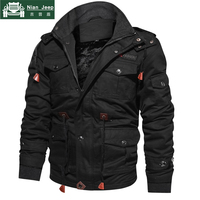 New Winter Fleece Jacket Men Outwear Thick Warm Hooded Coats Mens Military Jacket Male High Quality Clothing Plus Size M 4XL