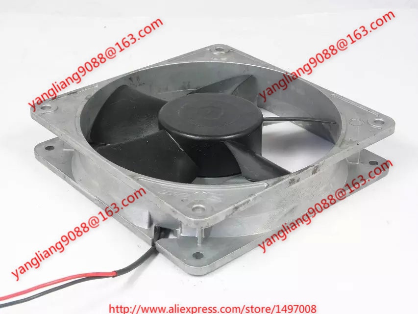Emacro MD1225-24 DC 24V 0.26A 120X120X25mm Server Square fan emacro for nonoise a8025h24b server square fan dc 24v 0 095a 80x80x25mm 2 wire