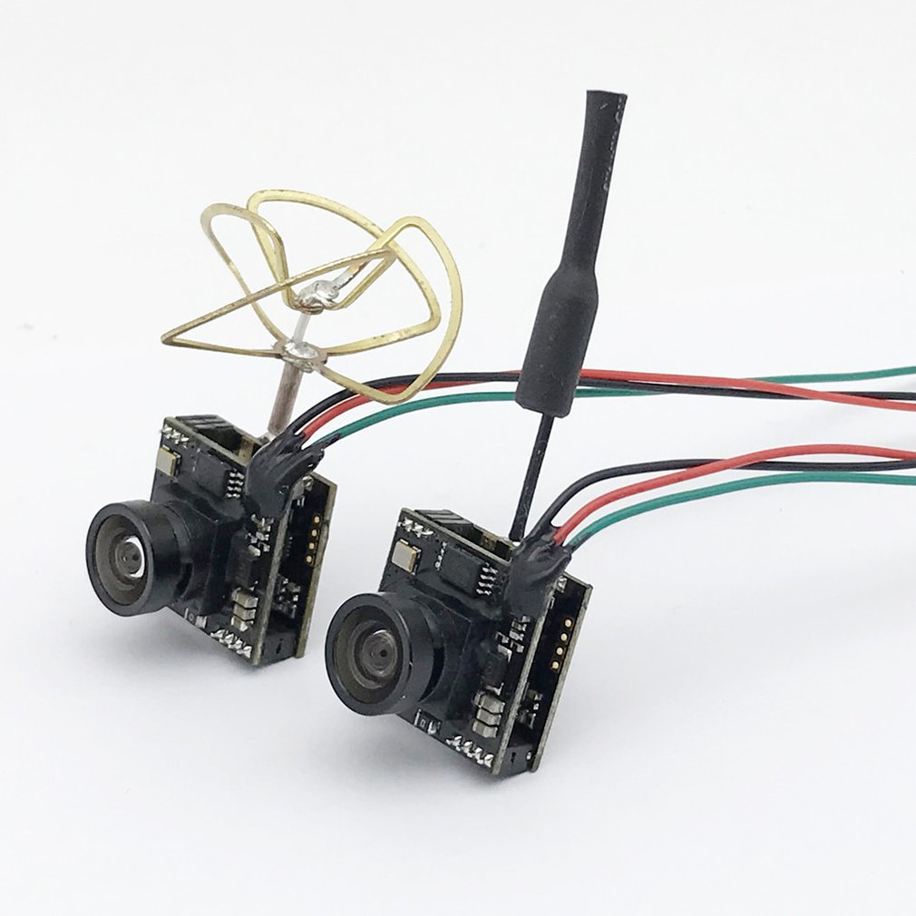 FPV Crossing Machine 5.8G Adjustable Power Transmission Transmitter Integrated Four-Leaf Clover Copper Tube